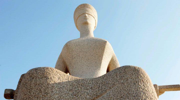 Estátua da Justiça. Foto: Gil Ferreira/SCO/STF (16/09/2010)